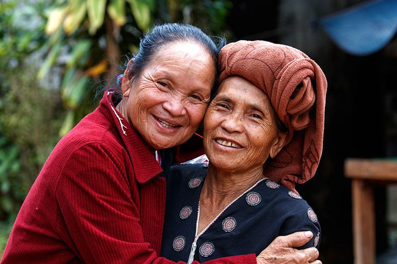 keramahan penduduk thailand