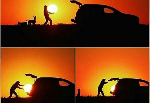 Membawa Sunset