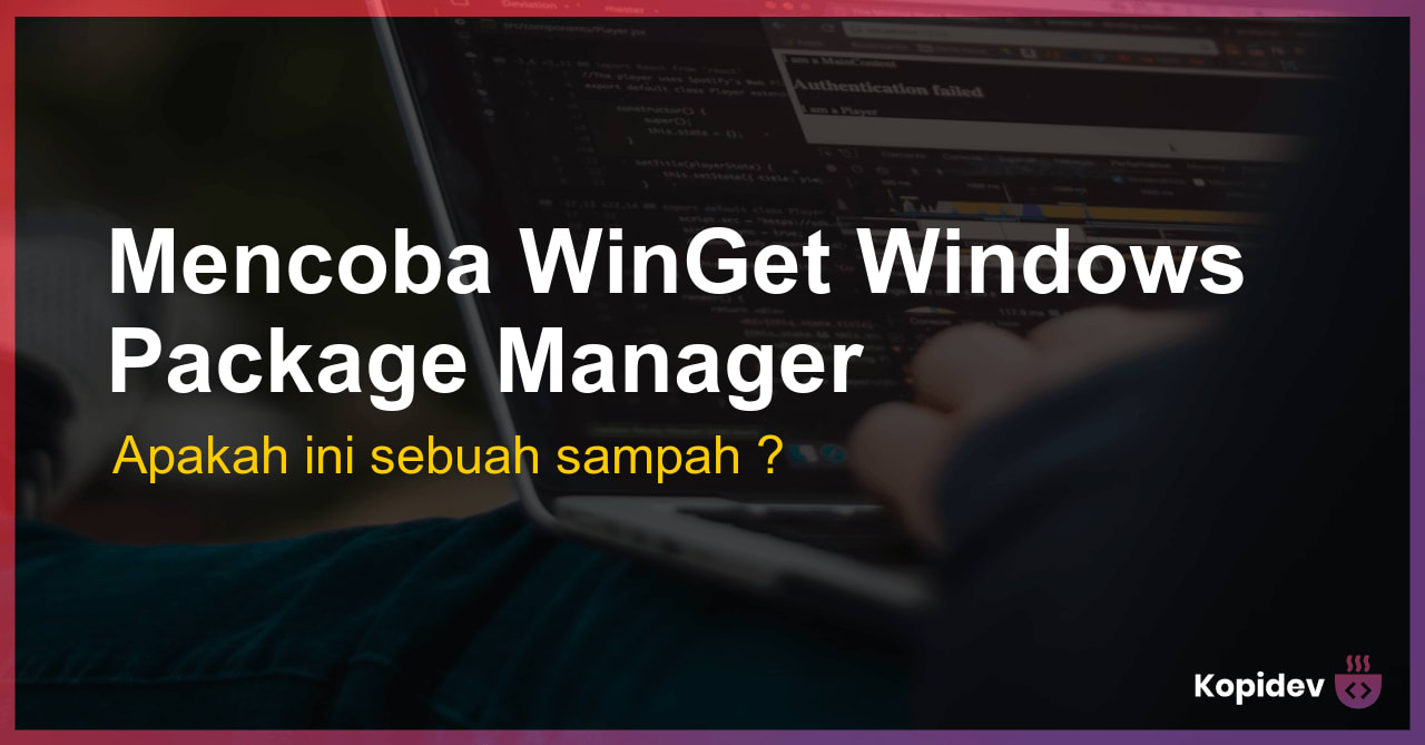 WinGet Windows Package Manager