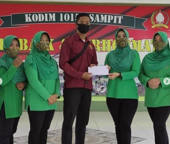 Berempati, Kodim 1015/Sampit Himpun Bantuan untuk Korban Banjir di Kalimantan Selatan