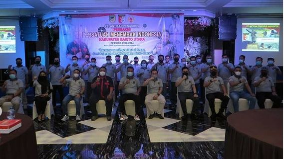 Dandim 1013/MTW Hadiri Pelantikan Pengurus PERBAKIN Kabupaten Barito Utara