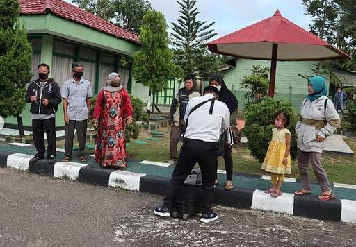 Apel Pemberangkatan Calon Tamtama Prajurit Karier TNI AD Gelombang I Ta 2021 di Wilayah Kodim 1013/MTW