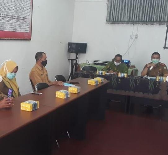 Danramil 1015 - 08/Mb.Ketapang Hadiri Rapat Koordinasi Tim Terpadu Penanganan Konflik Sosial