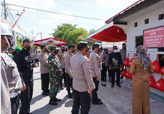 Danrem102/Pjg Dampingi Kunjungan Kerja Wakapolri di Wilayah Kalteng.