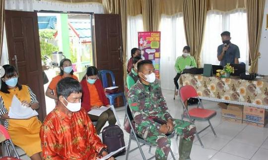 Anggota TMMD Diundang Rapat Musrenbang Desa Rangan Tate