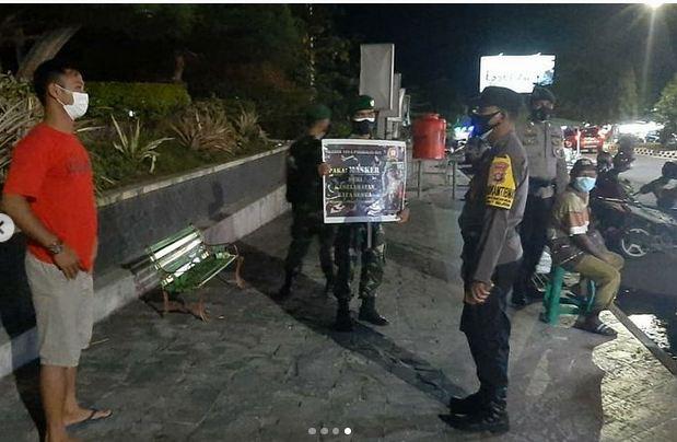 Patroli Yustisi, Petugas Gabungan Sasar Pedagang Angkringan