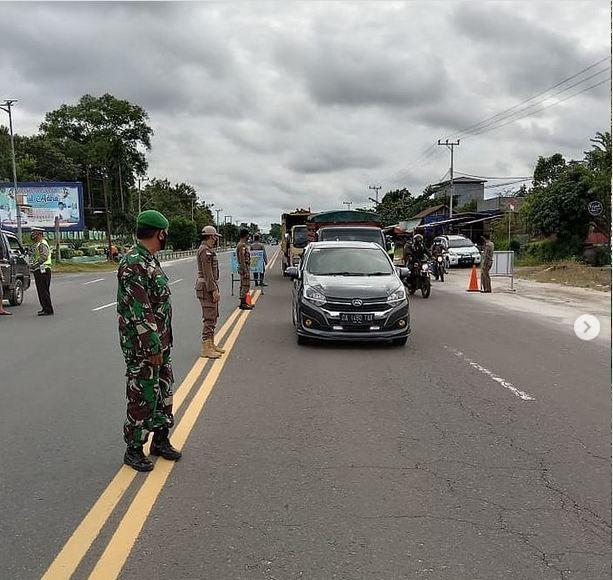 Pabung Katingan Dampingi Operasi Patuh Telabang