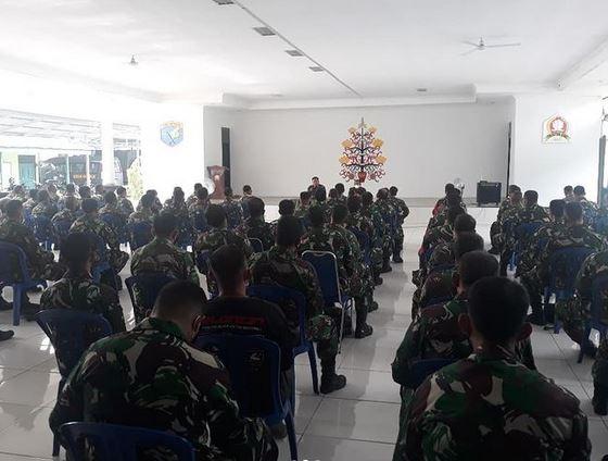 Arahan Dandim Palangka Raya: Jaga Kemanunggalan TNI Dengan Rakyat