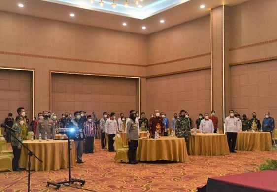 Kasrem 102/Pjg Hadiri Launching Tim Tanggap Insiden Siber
