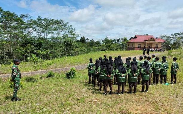 Koramil 1013-07/Murung Gelar Pembukaan Latihan Camping Saka Wira Kartika