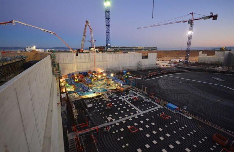 Начало строительства ITER