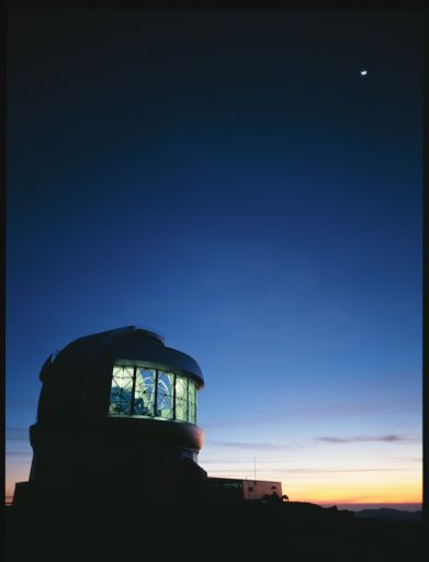 Вот отсюда и будут фотографировать экзопланеты (Gemini South, Чили)