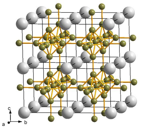 Кристаллическая структура гексаборида кальция