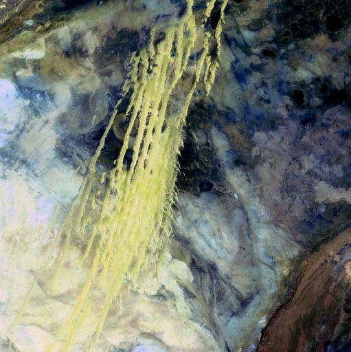 Алжир, Landsat 5, снято 8 апреля 1985 года