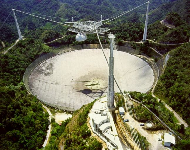 Радиотелескоп Аресибо.
