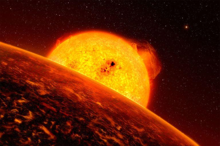 Суперземля CoRoT 7 b