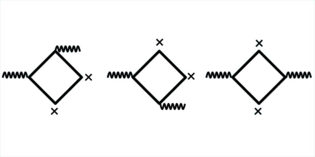 Фейнмановские диаграммы для рассеяния Дельбрюка