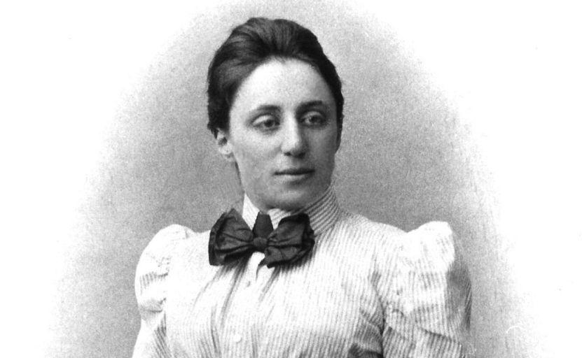 Эмми Нётер в молодости.