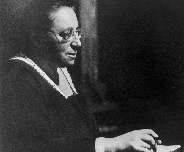 Эмми Нётер в 1930 году.