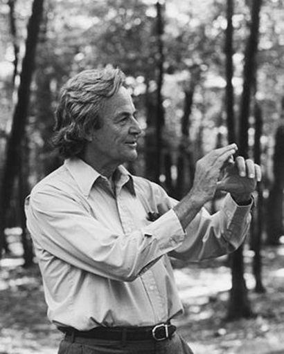 Ричард Фейнман.