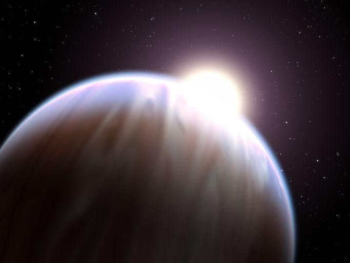 горячий юпитер HD 189733 b