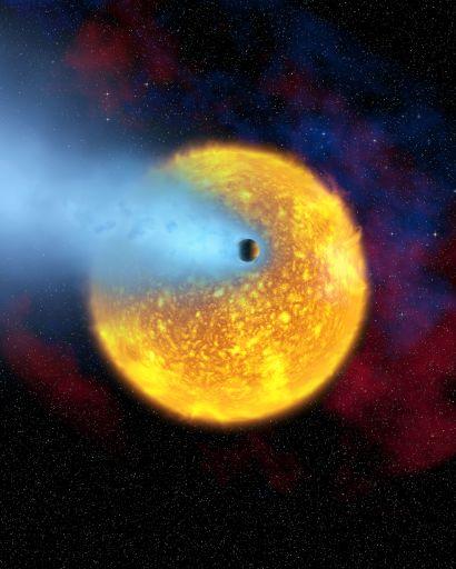 Горячий юпитер HD 209458 b