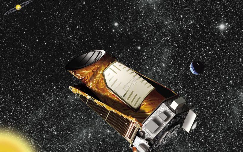 Телескоп Kepler  в представлении художника.