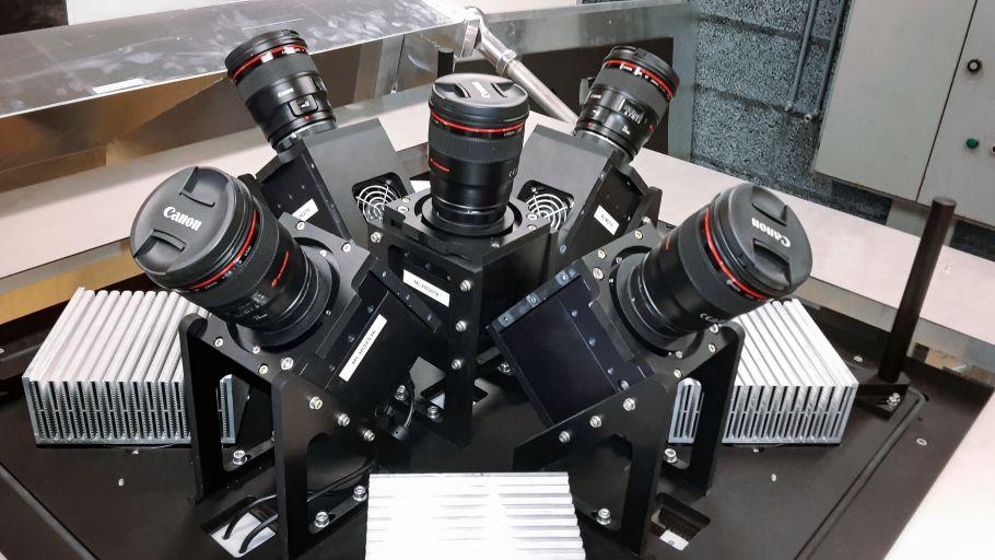 Система пяти камер инструмента MASCARA