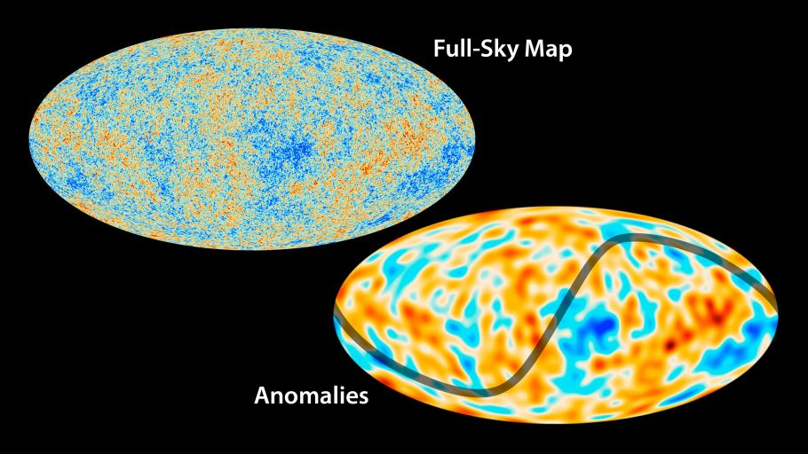 Аномалии в распределении микроволнового фона