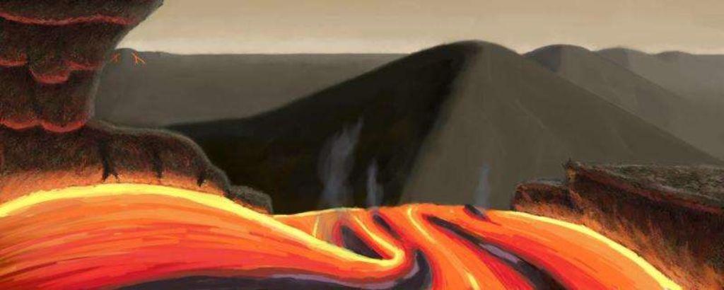 Приблизительно так выглядит поверхность одной из землеподобных планет Тау Кита в представлении художника