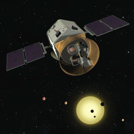 Так, предположительно, будет выглядеть спутник TESS.