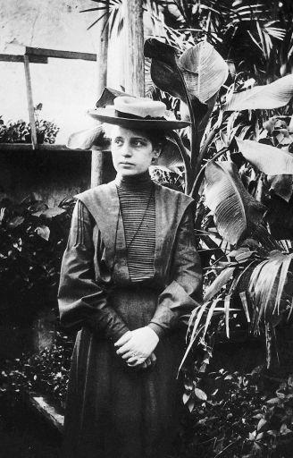 Лиза Мейтнер в 1906 году.