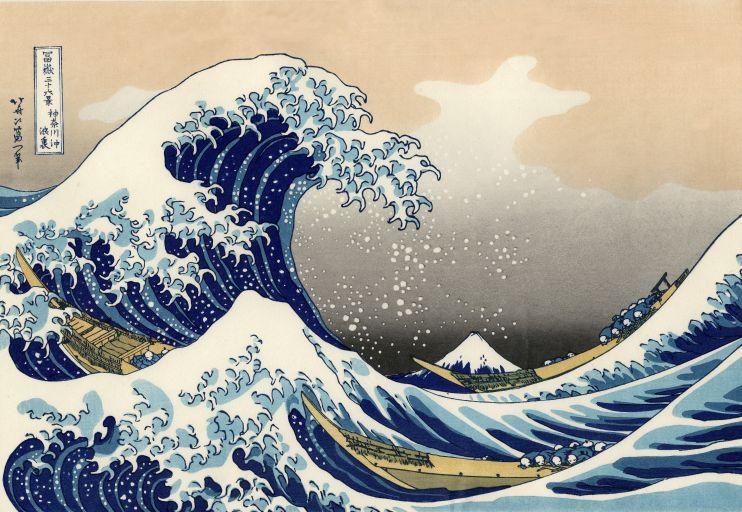 Считается, что картина Кацусика Хокусай «Большая волна в Канагаве» — самое старое дошедшее до нас изображение волны-убийцы.
