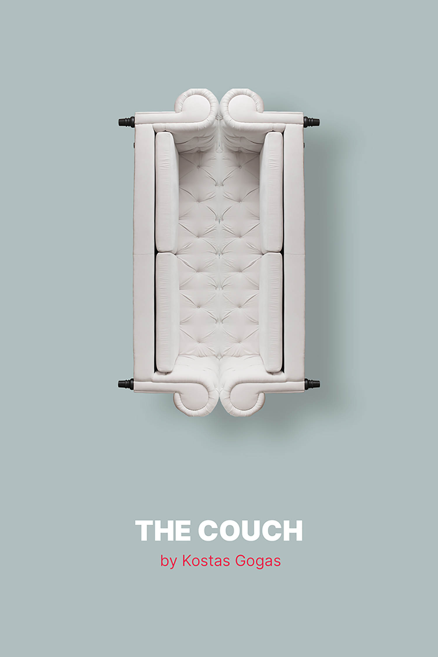 Book cover of 'The Couch' by Kostas Gogas