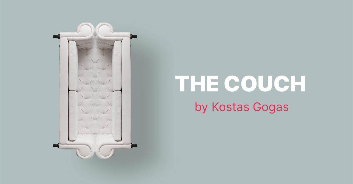 Featured Image of 'The Couch'' by multidisciplinary artist Kostas Gogas.