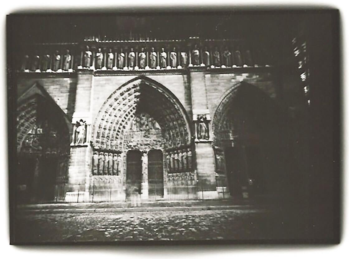 'Notre Dame, Facade, Paris' - Dianne Bos at Kostuik Gallery