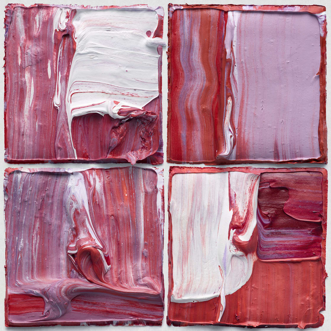 'Multiform X4 Red Purple 01' - Judy D Shane at Kostuik Gallery