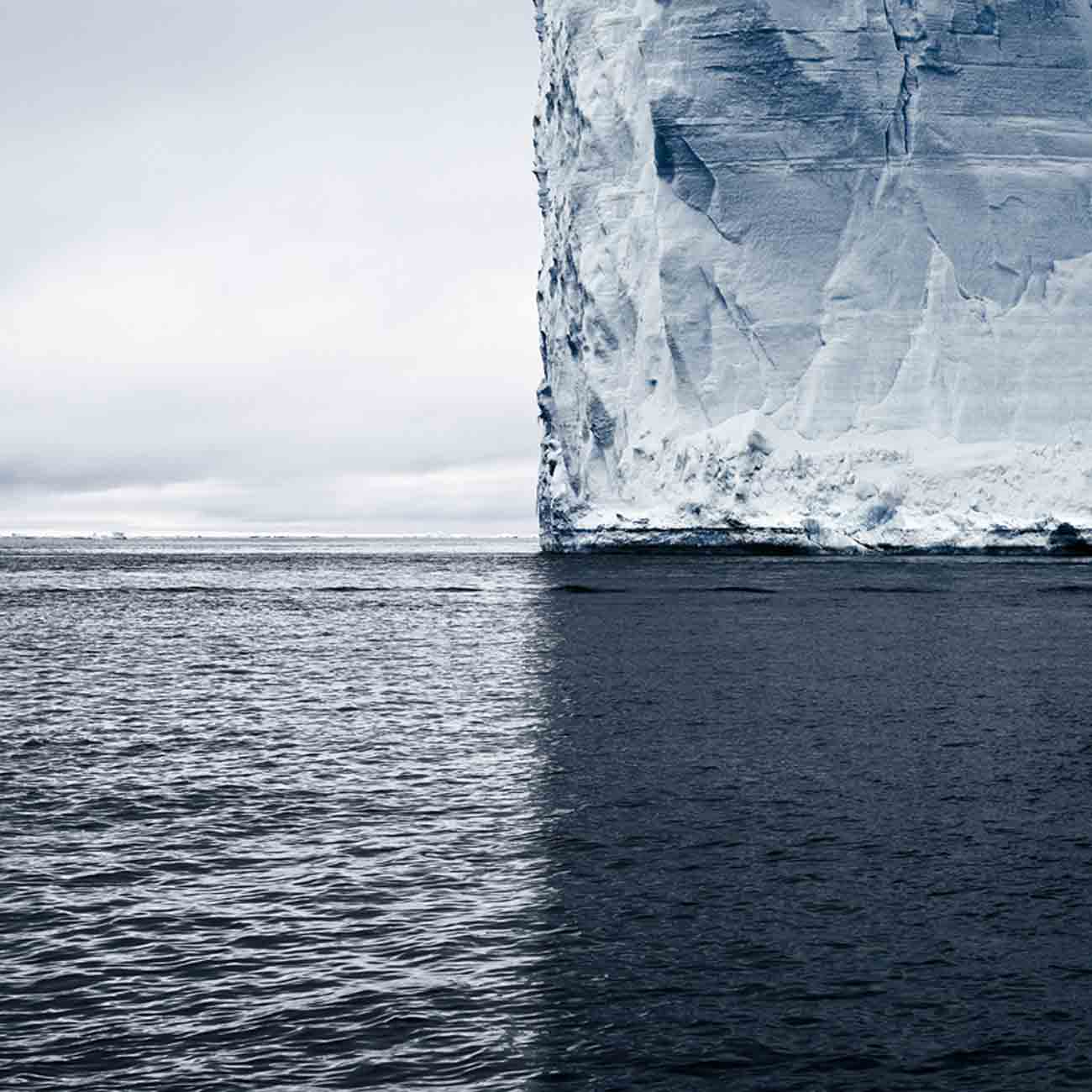 Mercators Projection, Antarctica, 2007 - David Burdeny at Kostuik Gallery