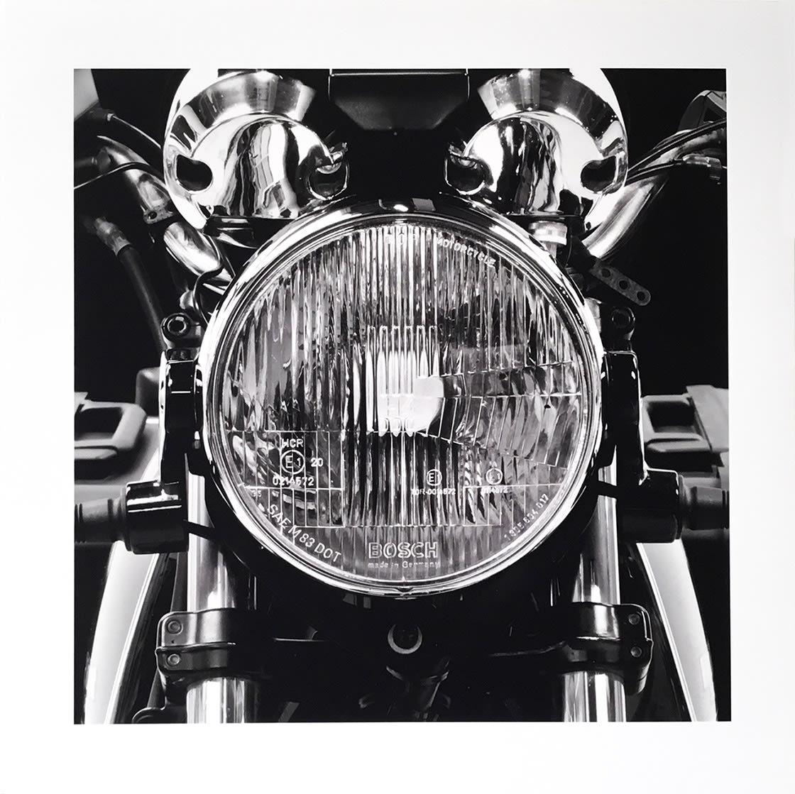 My 1000 CC Airhead 1995 R100R, 2011 by James Lahey at Kostuik Gallery
