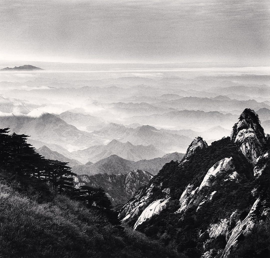 Huangshan Mountains, Study 51, Anhui, China