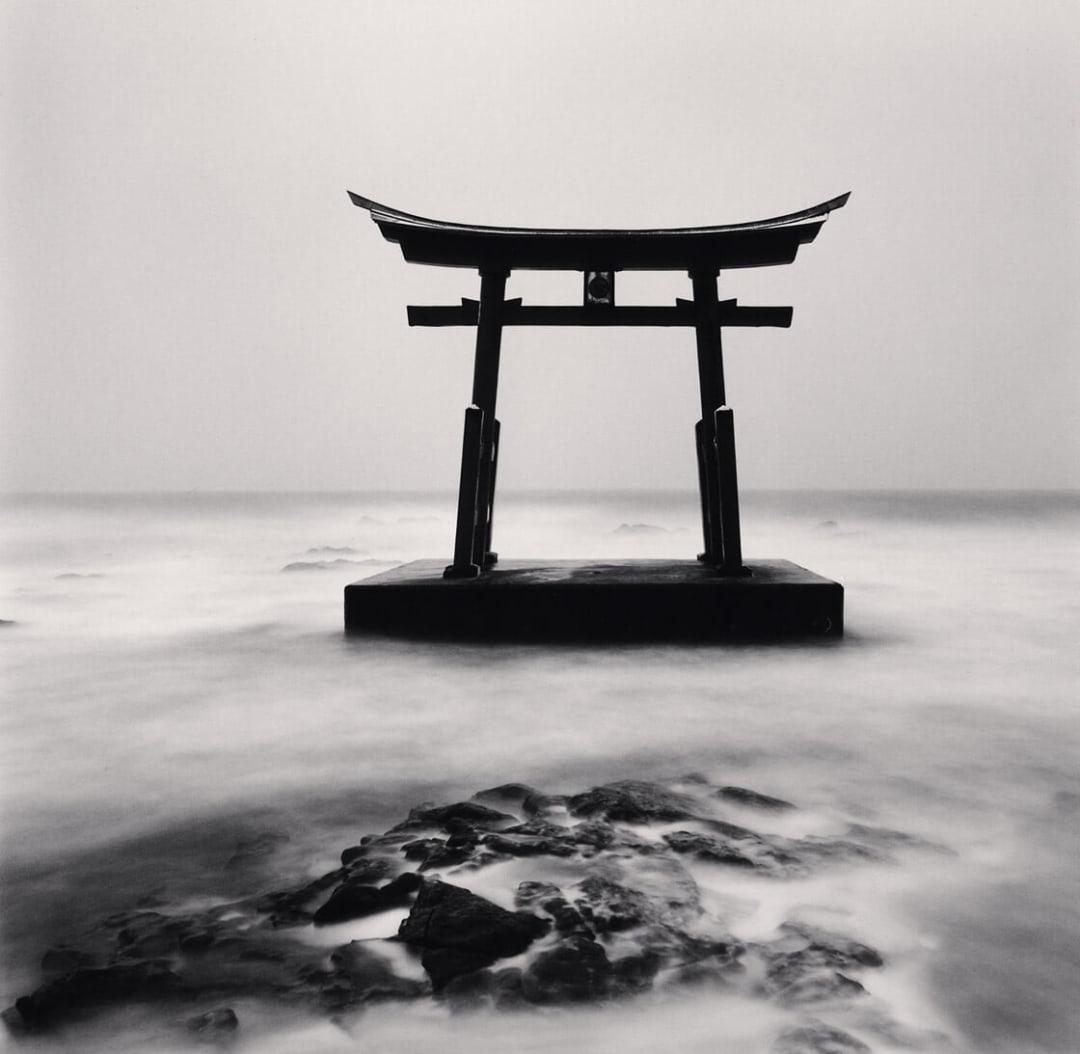 Torii Gate, Study 2, Shosanbetsu, Hokkaido, Japan - Michael Kenna