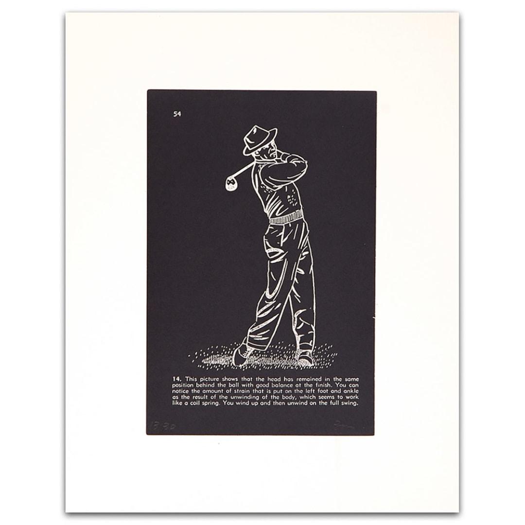 'Golf Lesson pg.54' - Bill McCarroll