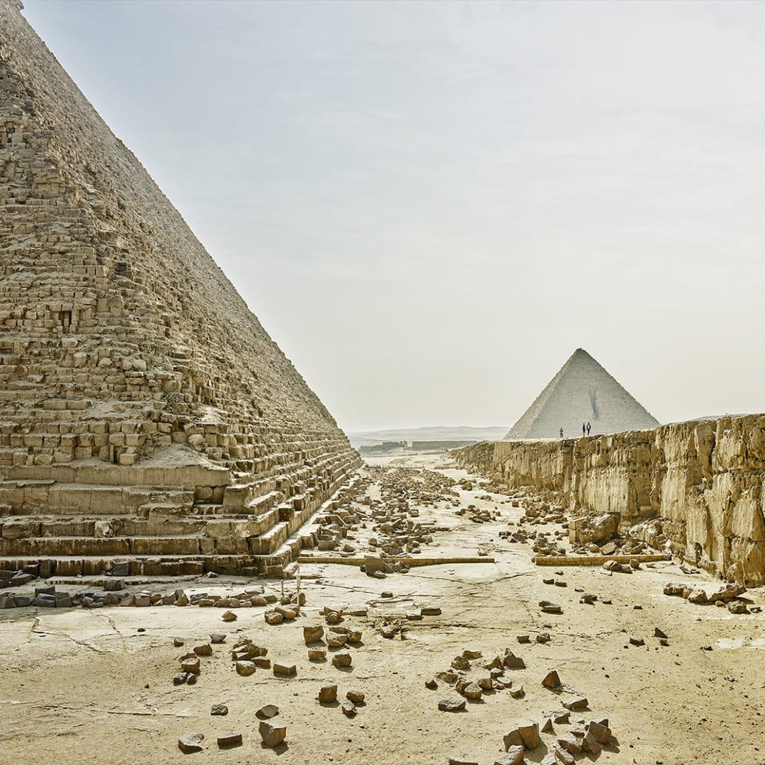 'Giza Plateau, Giza, Egypt' - David Burdeny