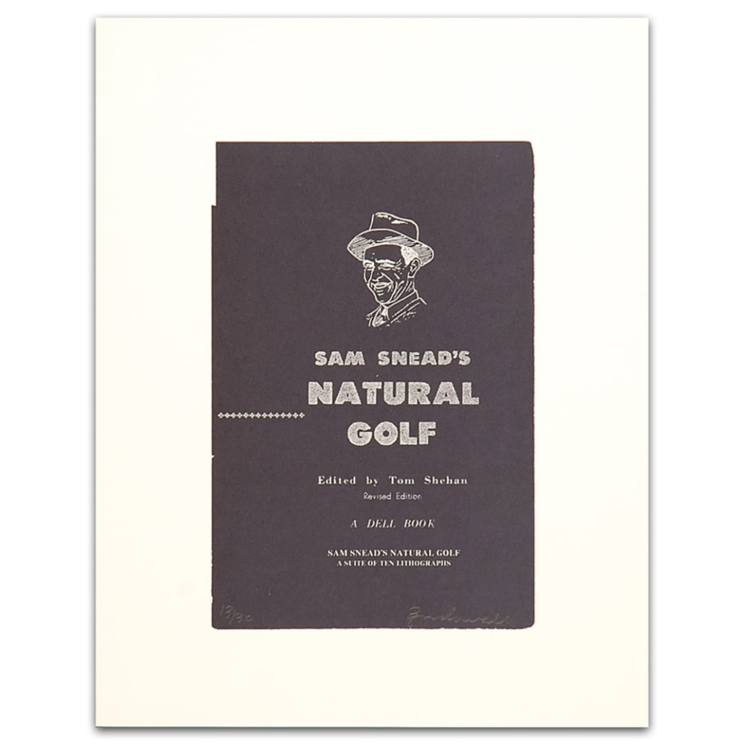 'Sam Sneads Natural Golf , 2000' - Bill McCarroll