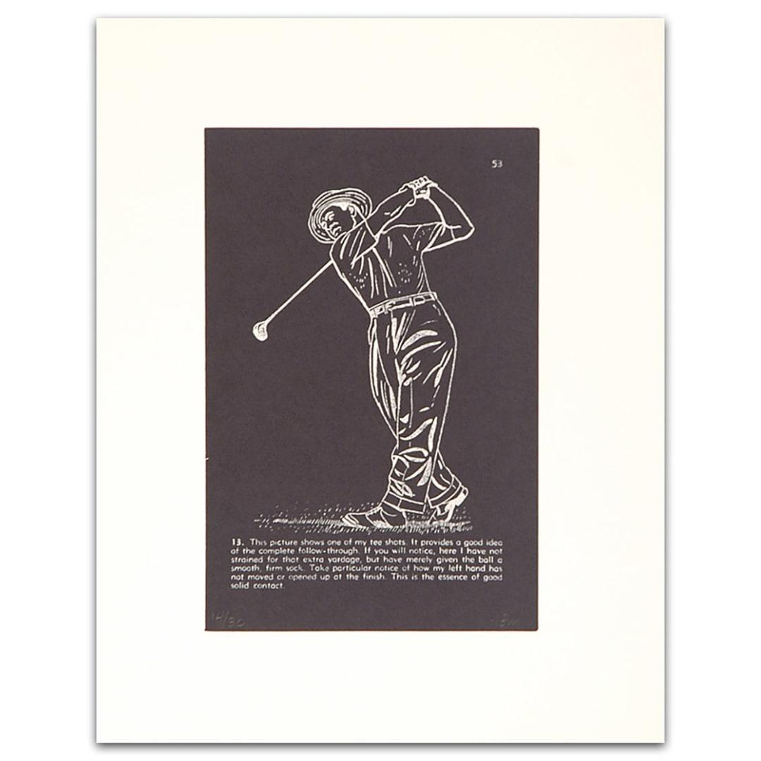 'Golf Lesson pg. 53 , 2000' - Bill McCarroll