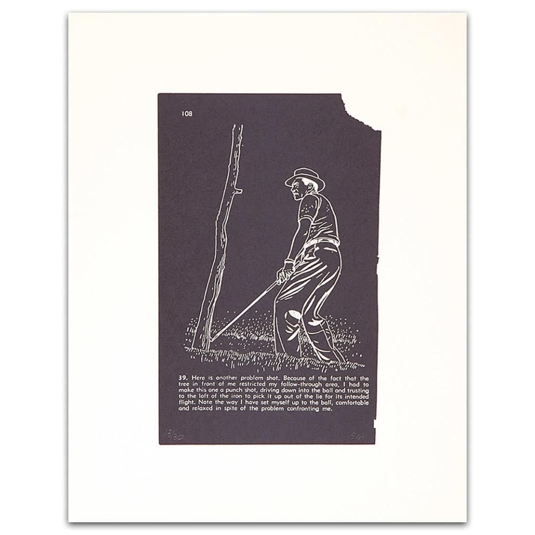 'Golf Lesson pg.108, 2000' - Bill McCarroll