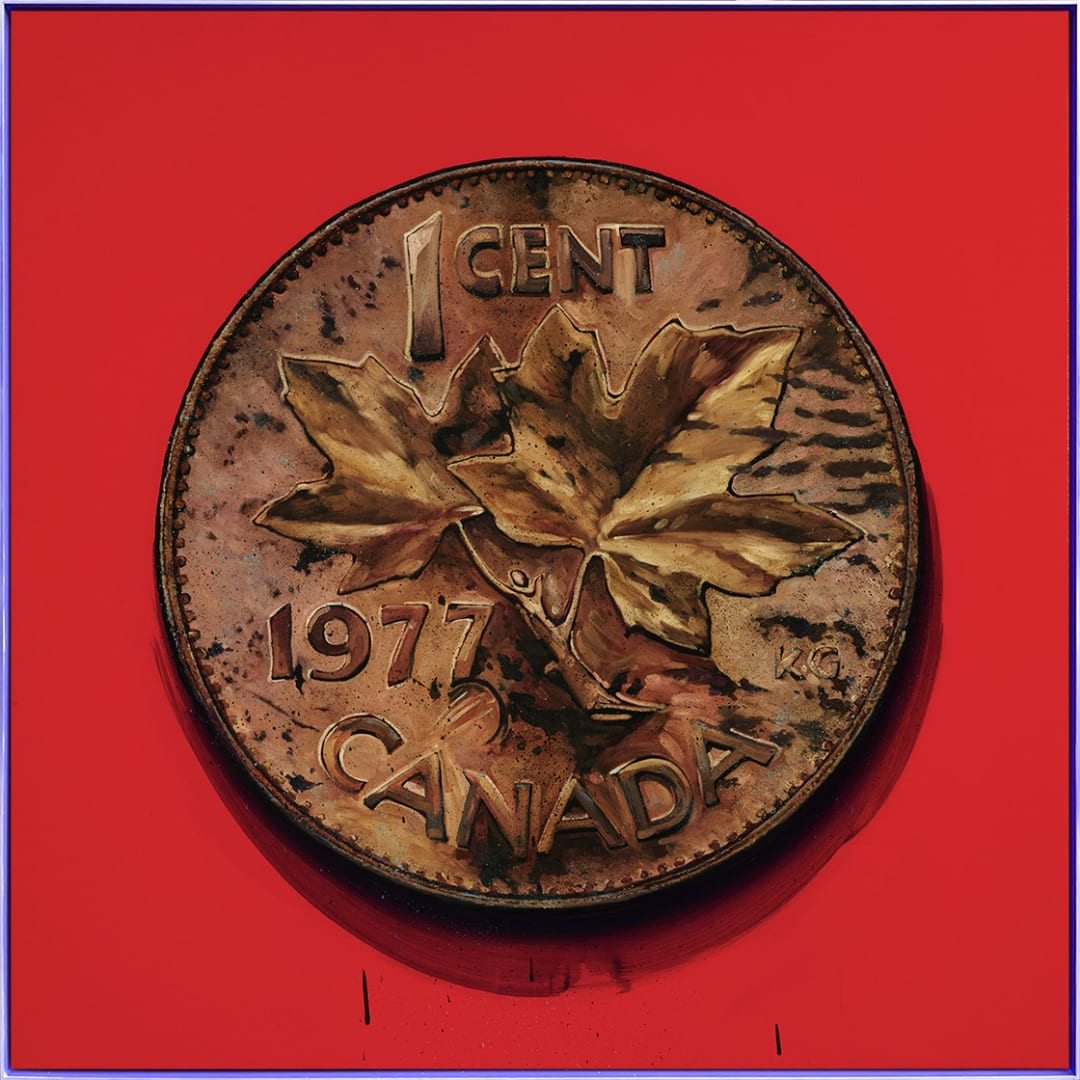 James Lahey - 1 Cent Portrait, 1977 (Made in Canada 3 - A Memoir)