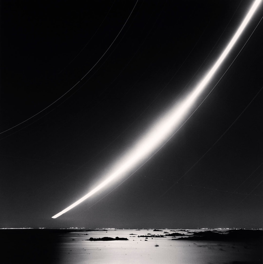 Full Moonrise, Chausey Islands, France - Michael Kenna
