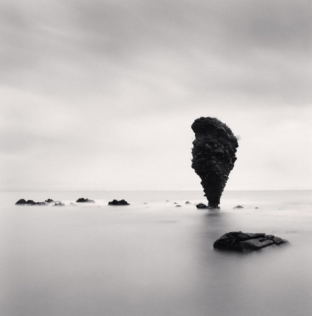 Rock Formations, Study 2, Yoichi, Hokkaido, Japan - Michael Kenna