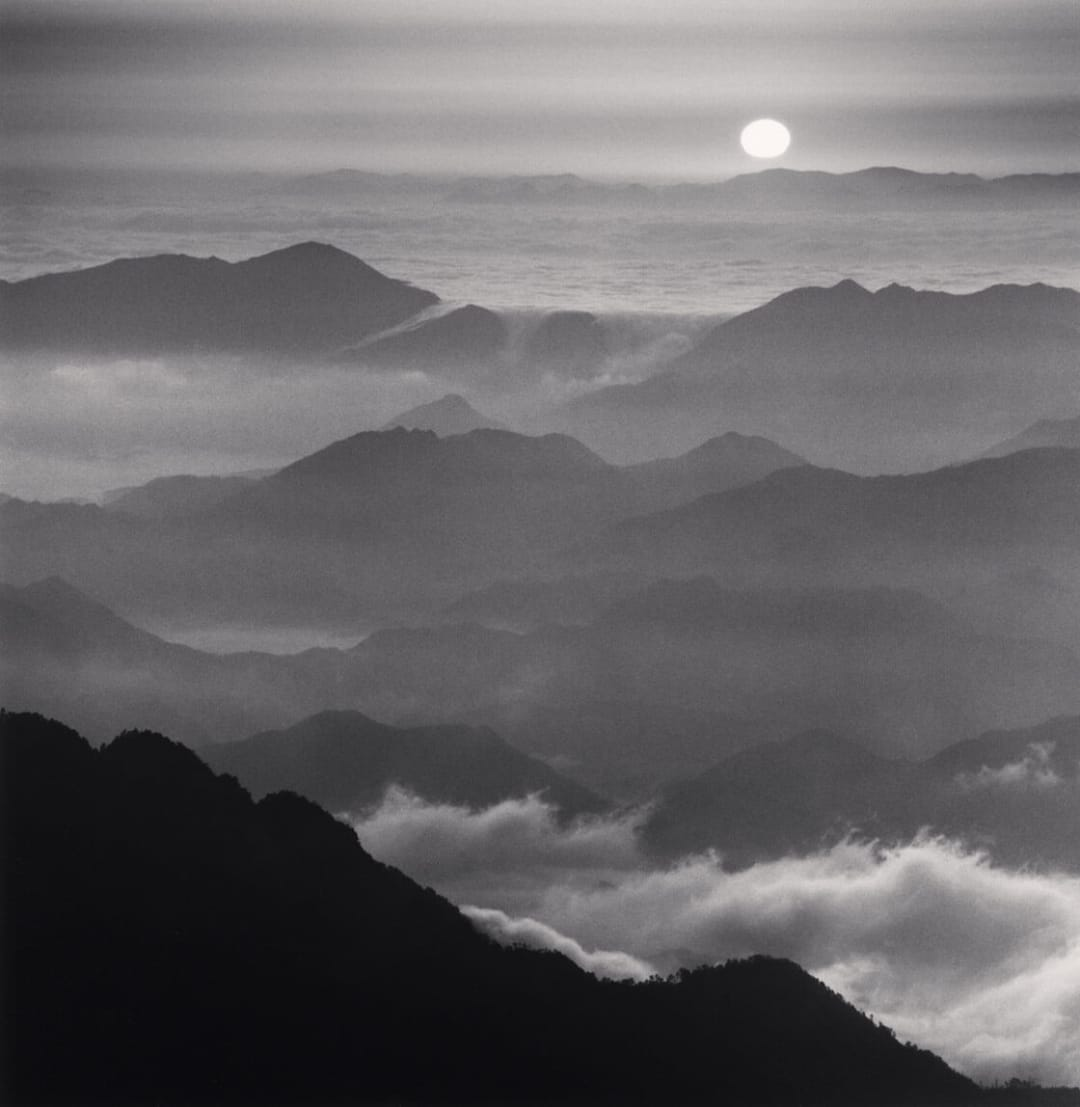 Huangshan Mountains, Study 46, Anhui, China - Michael Kenna